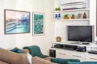 02 - AD - Reforma apto, sala e quartos filhos adolescentes. Itaim Bibi