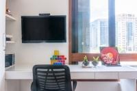 08 - AD - Reforma apto, sala e quartos filhos adolescentes. Itaim Bibi