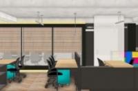 01 - EL - Projeto escritorio da sede agencia publicidade desenvolvido em parceria com Rogerio Castro.