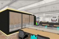 02 - EL - Projeto escritorio da sede agencia publicidade desenvolvido em parceria com Rogerio Castro.
