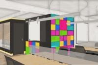 03 - EL - Projeto escritorio da sede agencia publicidade desenvolvido em parceria com Rogerio Castro.