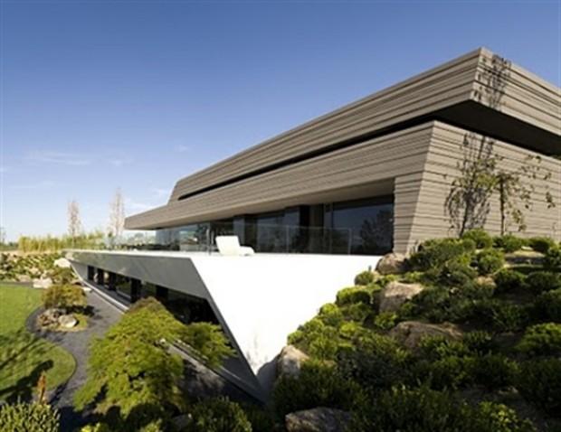 Casa do cristiano ronaldo danyela corr a arquitetura e - Casas modernas madrid ...