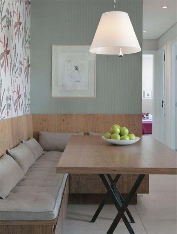 Banco Dois Lugares Sala De Jantar ~ apartamento  Danyela Corrêa  Arquitetura e Interiores