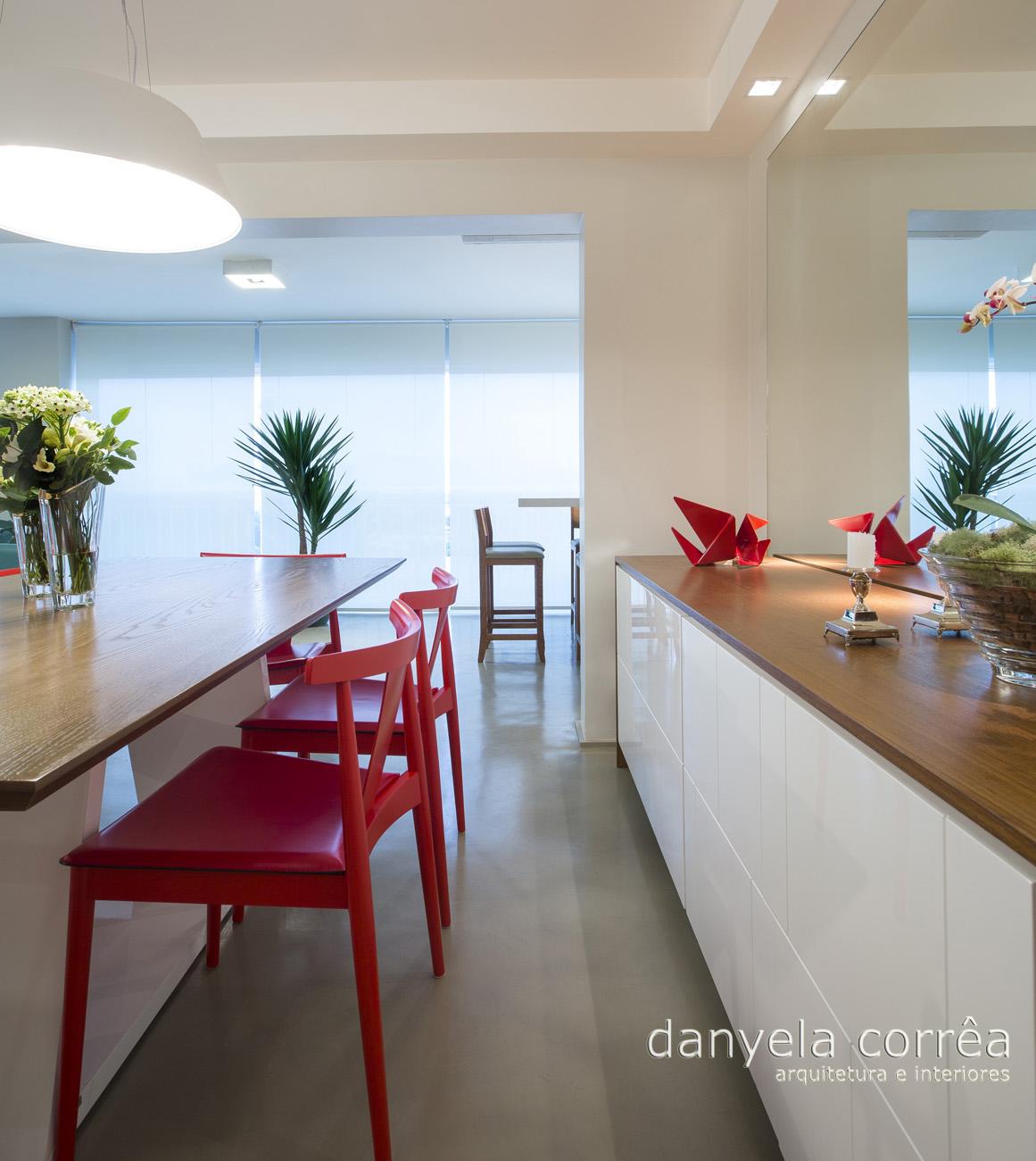 Apartamento Danyela Corr A Arquitetura E Interiores ~ Quarto Com Varanda Integrada E Prateleira Quarto Menina