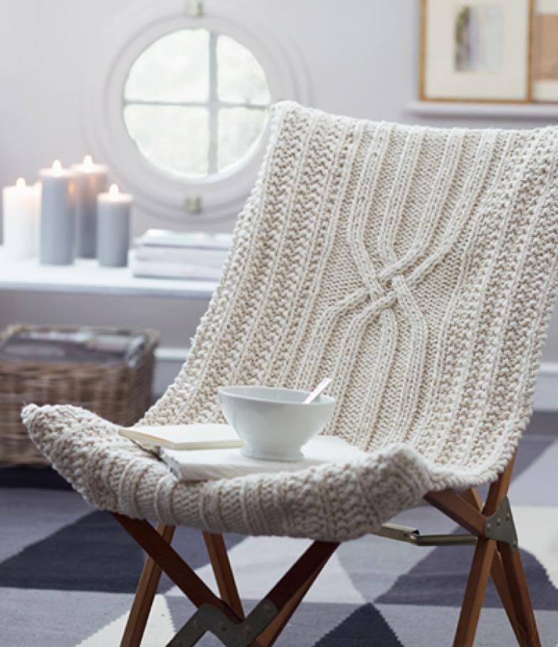 Cadeira trico - Casa.com.br