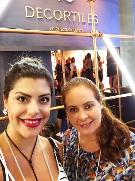 Equipe Danyela Corrêa Arquitetura na Expo Revestir