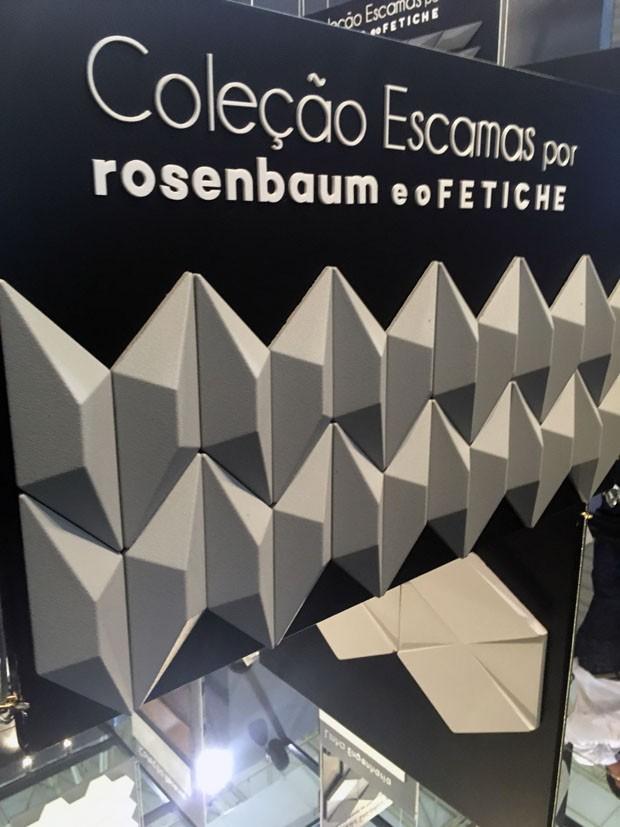 Santa Luzia coleção escama Rosenbaum